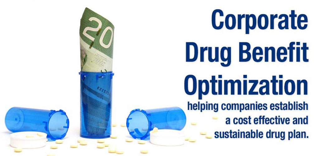 Corporate Drug Benefit Optimization helping companies establish a cost effective and sustainable drug plan.